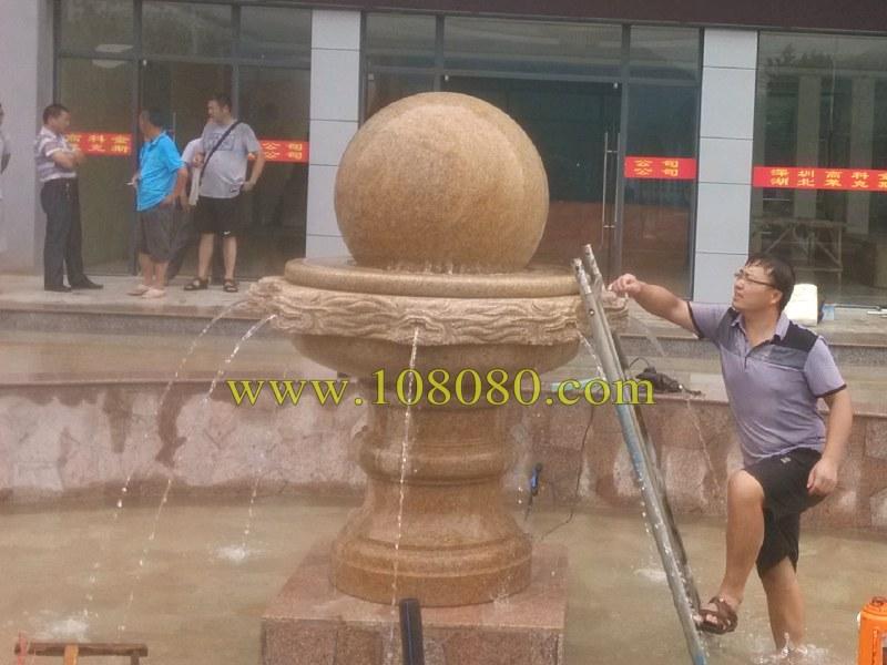 专业的风水球,石雕喷泉等